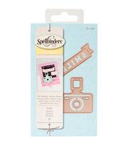 Spellbinders™ Die D-Lites 2 Pack Etched Dies-Smile, , hi-res