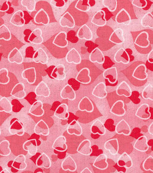 holiday inspirations valentines day glitter fabric 43 hearts
