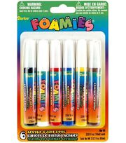 Darice Foamies Acrylic Paint Pens-Primary Colors, , hi-res