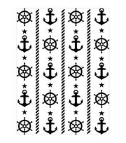 Darice Nautical Embossing Folder, , hi-res