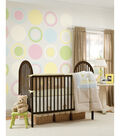 Wall Pops Pea Pod Green Dot Decals, 8 Piece Set