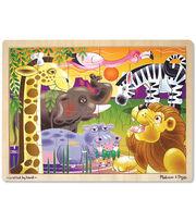Melissa & Doug African Plains Jigsaw (24 pc), , hi-res