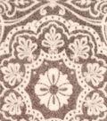 Luxe Fleece Fabric 59\u0022-Heather Medallion