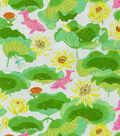 Waverly Print Fabric 54\u0022-Lotus Lake/Blossom