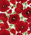 Hi Fashion Cotton Fabric-Large Poppy