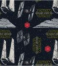 Star Wars VII Villains Ships Feece Fabric