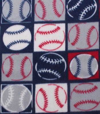 "Blizzard Fleece Fabric 59""-Baseball Patch"