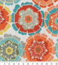 Home Essentials Upholstery Fabric 45\u0027\u0027-Coral Sunflowers