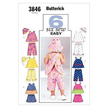 Butterick Infants Casual-B3846