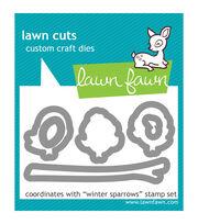 Lawn Fawn Lawn Cuts Custom Craft Die -Winter Sparrows, , hi-res