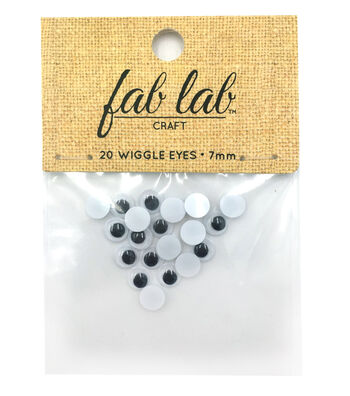 Easyglue Eyes 7mm 20pc