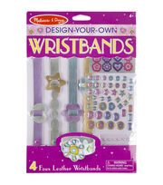 Melissa & Doug Design-Your-Own Jewelry Kit-Wristbands, , hi-res