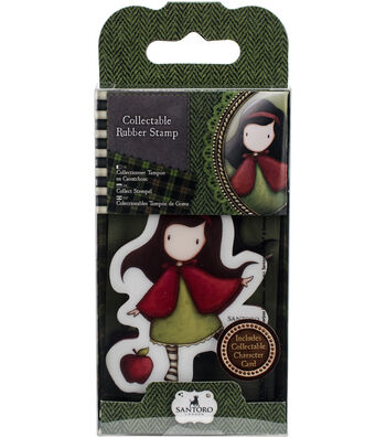 Santoro Rubber Stamps-No. 14, Little Red