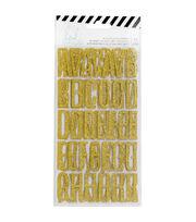 Heidi Swapp Magnolia Jane Glitter Alphabet Stickers, , hi-res