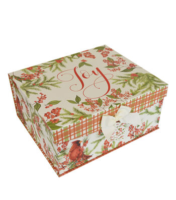 Maker's Holiday Large Flip Top Box-Wild Berries