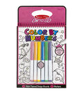 Melissa & Doug On The Go Color By Numbers-Pink