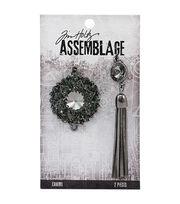 Tim Holtz® Assemblage 2 Pack Adorned Bijou & Tassel Charms, , hi-res
