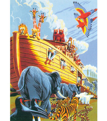 Royal Langnickel Junior Small Paint By Number Kit Noah's Ark