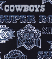 "Dallas Cowboys Fleece Fabric 58""-Champion Legacy, , hi-res"