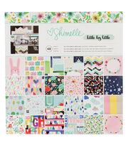 Shimelle Little By Little 12''x12'' Paper Pad, , hi-res