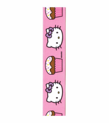 Hello Kitty® Pink Cupcakes Ribbon