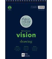 """Strathmore® 9""""x12"""" Vision Drawing Pad, , hi-res"""