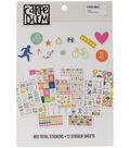 Carpe Diem Fitness A5 Stickers