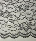 Casa Collection Lace Fabric 58\u0022-Two-Tone White/Black
