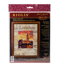 RIOLIS Stamped Cross Stitch Kit-Cities Of The World London
