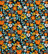 1930\u0027s Cotton Fabric 43\u0022-Mini Floral Black