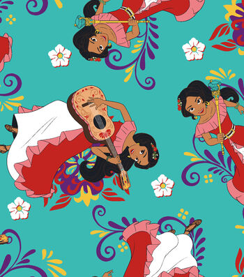"Disney® Elena of Avalor Fleece Fabric 59""-Make Magic"