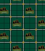 "Baylor University Bears Flannel Fabric 42""-Plaid, , hi-res"