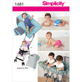 Simplicity Pattern 1481A All Sizes -Crafts Crafts