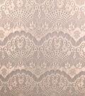Casa Collection Eyelash Lace Fabric 57\u0027\u0027-Snow White