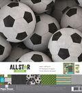 Paper House Paper Crafting Kit 12\u0022X12\u0022-Soccer