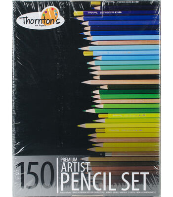 Colored Pencil Set & Zippered Case 150/Pkg-Assorted