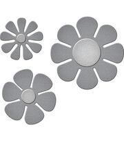 Spellbinders® Die D-Lites 3 Pack Etched Dies-Flower Power, , hi-res