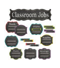Chalk It Up! Classroom Jobs Mini Board Set