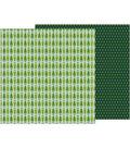 Merry Merry Double-Sided Cardstock 12\u0022X12\u0022-Fresh Cut Pines