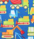 Blizzard Fleece Fabric 59\u0022-Bright Construction