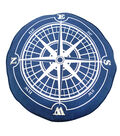 Seaport Pillow-Compass