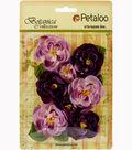 Botanica Ranunculus Flowers 1\u0022 To 1.7\u0022-Lavender/Purple