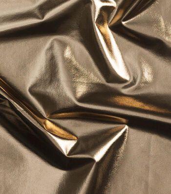 Cosplay by Yaya Han 4-Way Metallic Fabric-Bright Gold