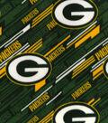 Green Bay Packers Fleece Fabric 58\u0022-Diagonal