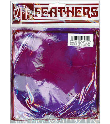 Marabou Plumage Feathers 1/2 oz