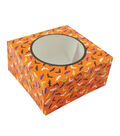 Cheer & Co. Halloween 2 pk Square Boxes with Window-Bat