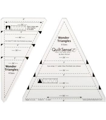 Quilt Sense Wonder Triangles