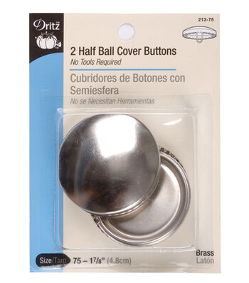 "Dritz 1 7/8"" Half Ball Cover Buttons"