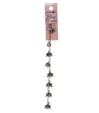Bliss Beads Silver Plated Elephant