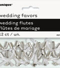 Unique Industries 12ct Wedding Mini Champagne Flutes